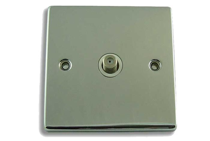 FSUK Click DECO-COAXIAL-ISO-SOCK Deco Single Coaxial Isolated Socket