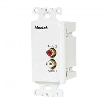 MuxLab 500028-WP-US Wall Plate Balun US