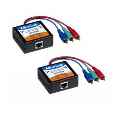 MuxLab 500050-2PK Component Video/Digital Audio Balun - 2 Pack