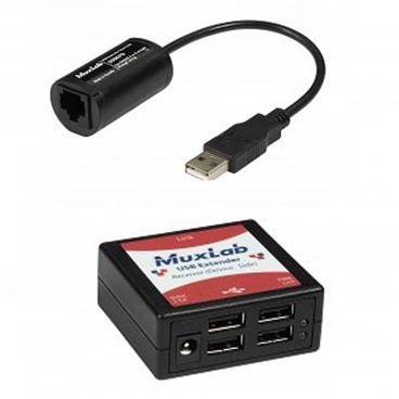 MuxLab 500070 USB 4-Port Extender Kit