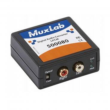 MuxLab 500080 Digital Audio Converter (DAC)