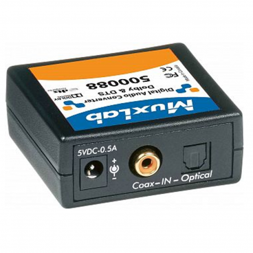 MuxLab 500088 Digital Audio Converter Dolby DTS