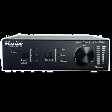 MuxLab 500217 Audio Zone Amplifier 100w