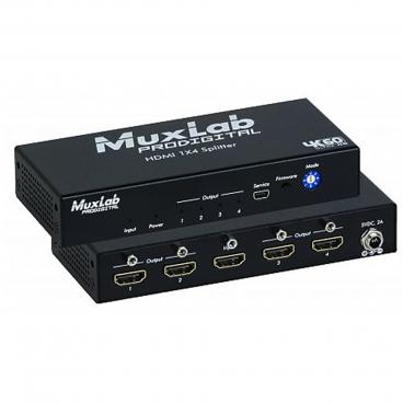 MuxLab 500426 HDMI 1x4 Splitter 4k60