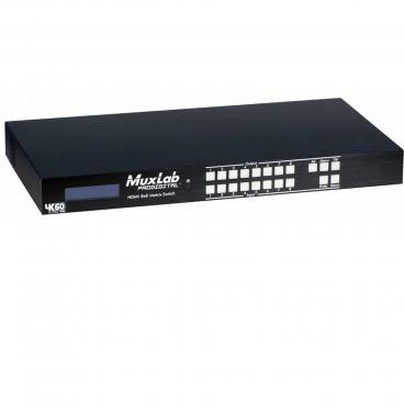 MuxLab 500443 HDMI 8x8 Matrix Switch 4k/60
