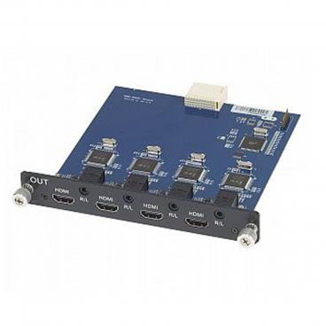 MuxLab 500475-SA 4 Channel HDMI Output Card With Audio