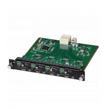 MuxLab 500481-I HDMI-RS232 4 Channel Input Card UHD 4k