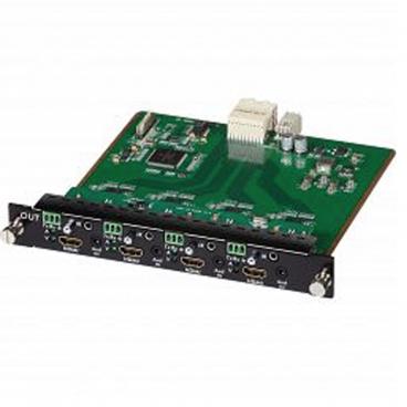 MuxLab 500481-O HDMI/RS232 4 Channel Output Card UHD 4K