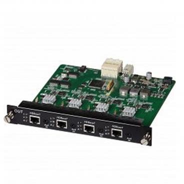 MuxLab 500483-O HDBaseT 4 Channel Output Card PoE UHD 4K