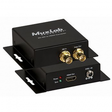 MuxLab 500717 3G-SDI to HDMI Converter