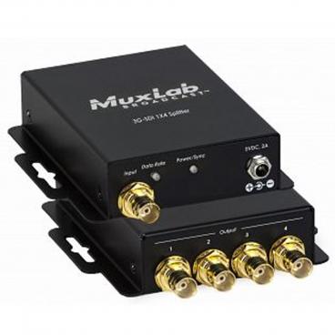 MuxLab 500719 3G-SDI 1x4 Splitter