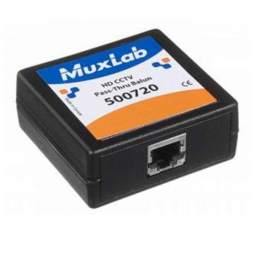 MuxLab 500720 HD CCTV Pass-Thru Balun