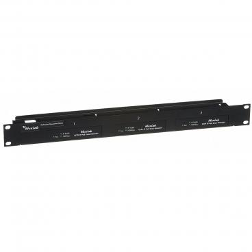 MuxLab 500905 3 Port Rackmount Transceiver Chassis