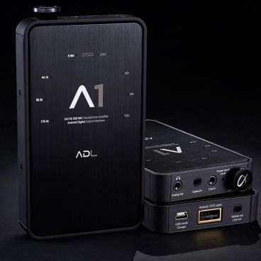 ADL A1 Portable Headphone Amplifier / DAC