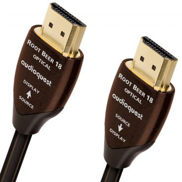 AudioQuest Root Beer Active Optical HDMI Cable