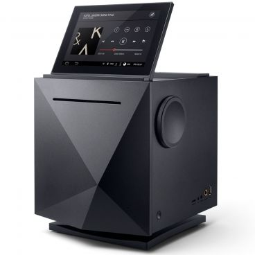 Astell&Kern AK500N Black Front with Tablet Image