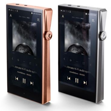 Astell&Kern A&Ultima SP1000 Portable Hi-Fi Music Player - Copper & Stainless Steel - Front