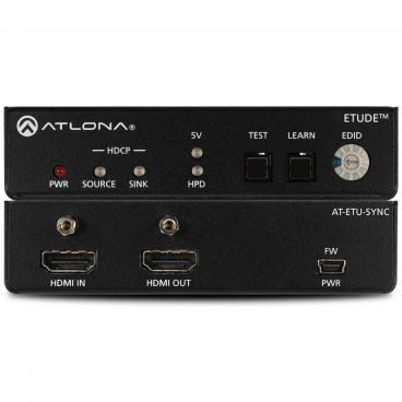 Atlona AT-ETU-SYNC EDID Emulator for 4K HDR HDMI Signals