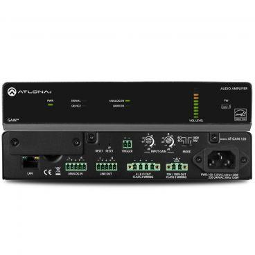 Atlona AT-GAIN-120 Stereo / Mono Power Amplifier – 120 Watts