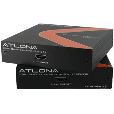 Atlona AT-HDMI50SR HDMI over cat5 Extender up to 150ft at 1080p