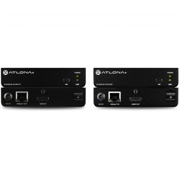 Atlona AT-HDR-EX-70-2PS 4K/UHD HDR HDMI Over HDBaseT TX/RX Kit