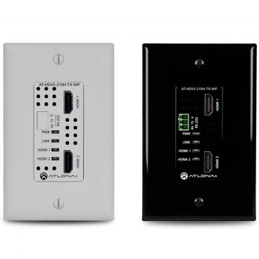 Atlona AT-HDVS-210H-TX-WP Single Gang Dual HDMI Wall Transmitter