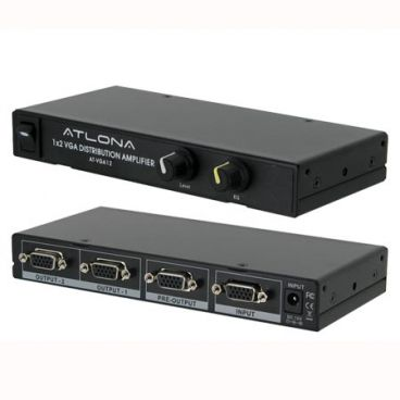 Atlona AT-VGA12 1x2 VGA (RGBHV) Distribution Amplifier with Local Out