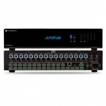 Atlona 4K/UHD 16×16 HDMI to HDBaseT Matrix Switcher with PoE for 4K/UHD