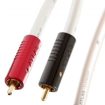 Atlas Element Achromatic 2 RCA to 2 RCA Audio Cable Pair