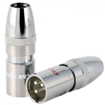 Atlas 3 Pin OFC Male XLR Plug