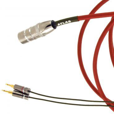Atlas Zeno 1:2 Custom Headphone Cable - 4 Pin XLR to 2.5mm - 2.5m Ex-Demo
