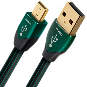 AudioQuest Forest USB Type A to USB Type Mini B Data Cable