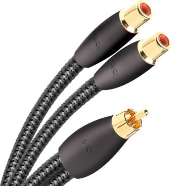 AudioQuest FLX-X RCA Splitter RCA (Male) to 2 RCA (Female)