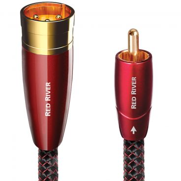 Audioquest Red River Analogue Audio Cable - Custom Length XLR or RCA Pair