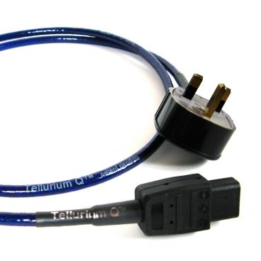 Tellurium Q Blue UK Mains Power Cable - 1.5m (Special Offer)