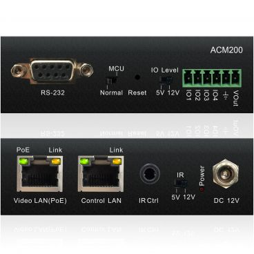Blustream ACM200 Multicast Advanced Control Module for TCP/IP, RS-232 and IR control of Blustream Multicast systems with Web-GUI