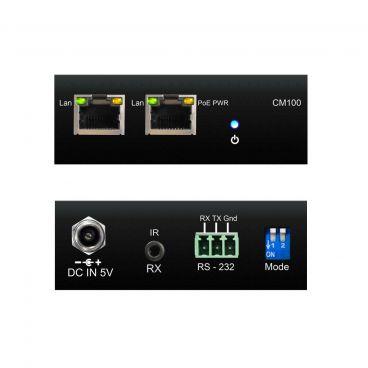 Blustream CM100 IP Multicast Control module - Front & Back