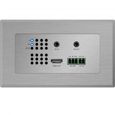 Blustream HEX11WP-RX HDMI Wall Plate HDBaseT™ Receiver - HDMI, RS-232 and IR up to 70m (4K up to 40m)