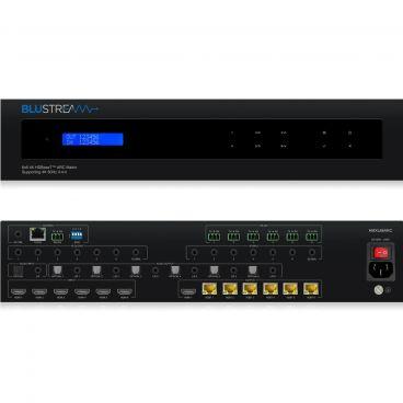 Blustream HMXL66ARC 6x6 HDBaseT™ CSC ARC Matrix - 70m (4K 60Hz 4:4:4 up to 40m)