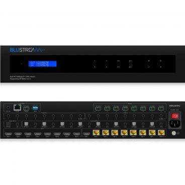 Blustream HMXL88ARC 8x8 HDBaseT™ CSC ARC Matrix - 70m (4K 60Hz 4:4:4 up to 40m)