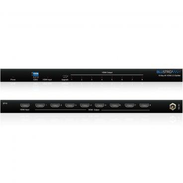 Blustream SP18 8-Way 4K HDMI 2.0 HDCP 2.2 Splitter with EDID Management