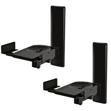 B-Tech Ultragrip Pro Side Clamping Loudspeaker Wall Mounts Black
