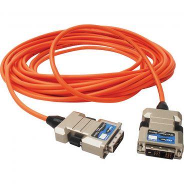Gefen CAB-DVIFO-60MM Single-Link DVI Fiber Optic Integrated Cable (M-M) - 66 feet