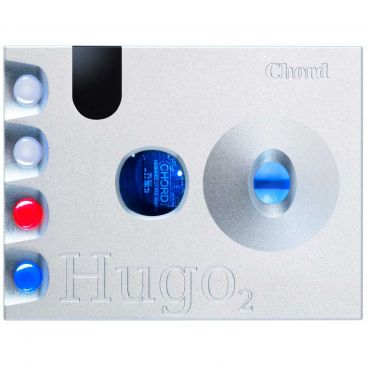 Chord Electronics Hugo 2 Transportable DAC / Headphone Amplifier - Silver FRONT