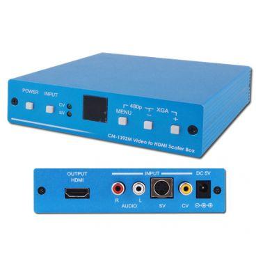 CYP CM-1392M CV, SV & L/R Audio to HDMI Scaler