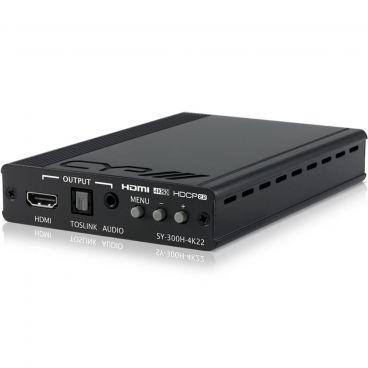 CYP SY-300H-4K22 HDMI to HDMI Scaler with Audio Embedding & De-Embedding