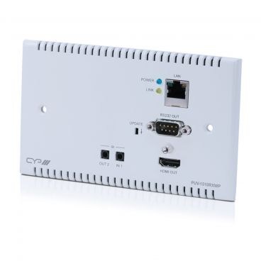CYP PUV-1510RXWP HDBaseT™ 5Play™ Wall Plate Receiver