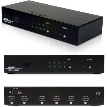 CYP EL-42S HDMI 4 Way Switcher with 2 Identical Outputs
