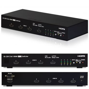 CYP EL-C81C HDMI 8-Way Switcher with CEC v1.3