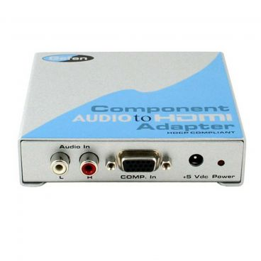 Gefen EXT-COMPAUD-2-HDMI Component Audio to HDMI Adapter